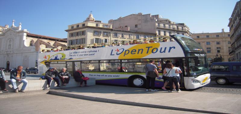Marseille hop-on hop-off tour