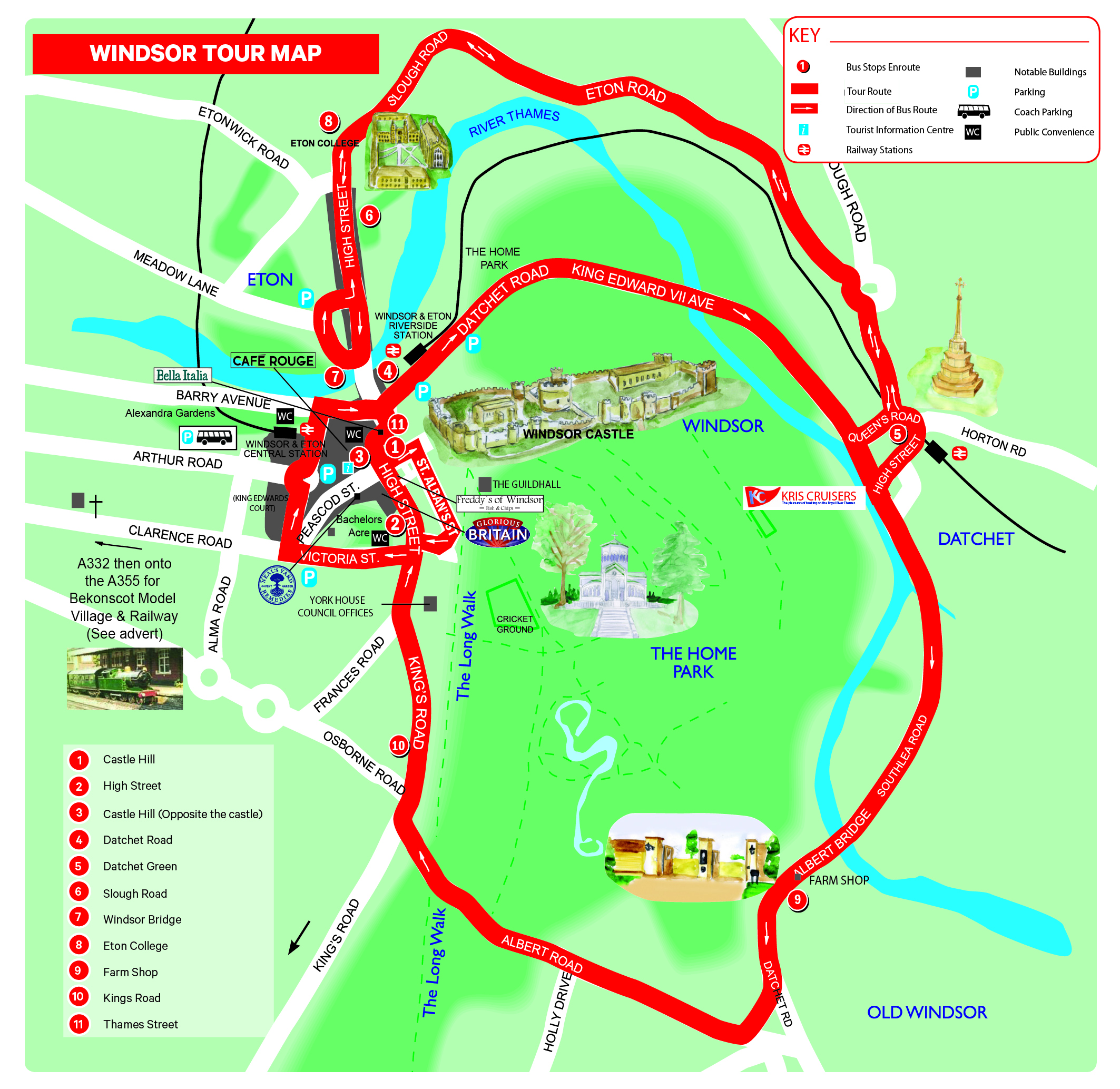 Map Windsor My Blog - Windsor map