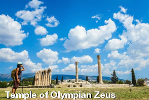 Athens Sightseeing - Temple of Olympian Zeus