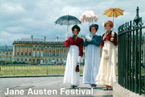 Jane Austen Festival - Bath Sightseeing