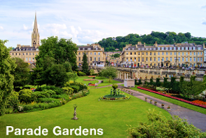 Parade Gardens - Bath Sightseeing