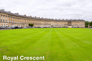 Royal Crescent - Bath Sightseeing