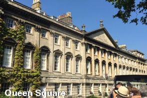 Bath Sightseeing - Queen Square
