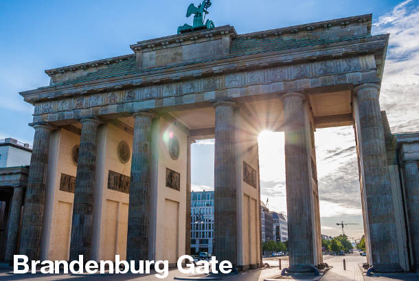 Bradenburg Gate - Berlin Sightseeing