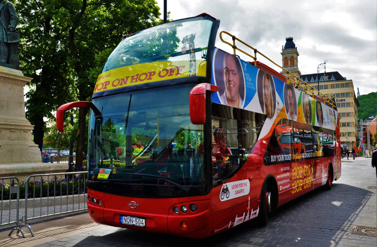 Official Giraffe Hop on Hop off Budapest - Sightseeing Hop-on Hop-off Bus Tour