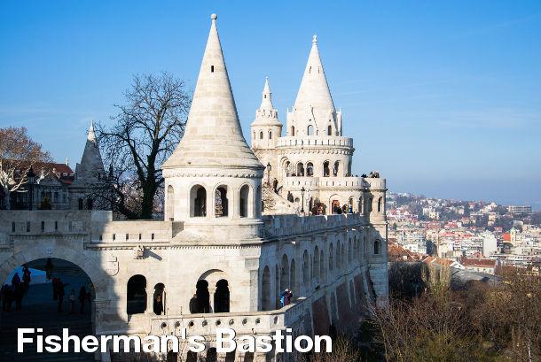 Budapest Sightseeing - Fisherman's Bastion