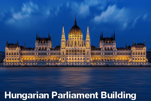 Budapest Sightseeing - Hungarian Parliament Building