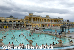 Budapest Sightseeing - Széchenyi Thermal Bath