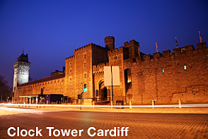 Navigatours Cardiff - Clock Tower