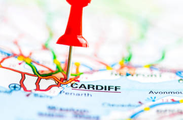 Navigatours Cardiff - Le plan des lignes