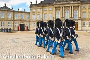 Amalienborg Palace - Copenhagen Sightseeing