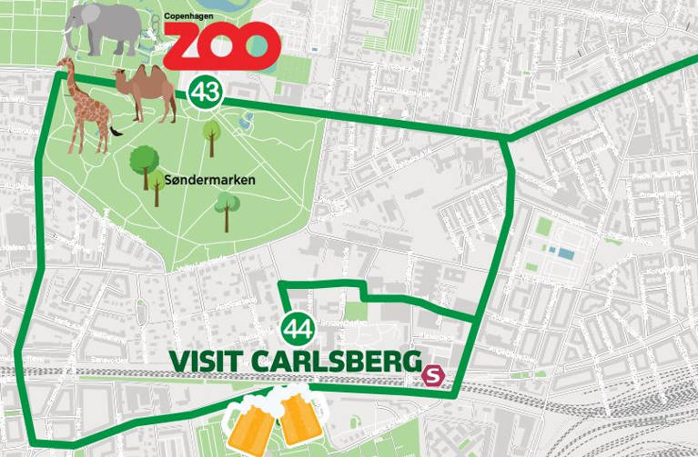Red Buses Copenhagen Sightseeing Routes and Tickets