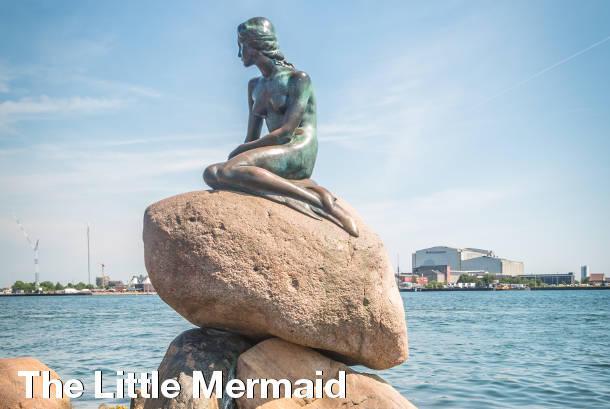 The Little Mermaid - Copenhagen Sightseeing
