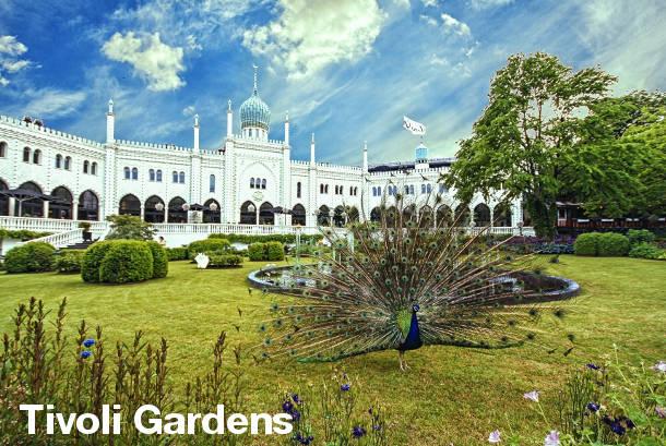 Tivoli Gardens - Copenhagen Sightseeing