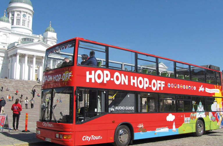 Red Buses Helsinki - Hop-on Hop-off Sightseeing Bus Tour