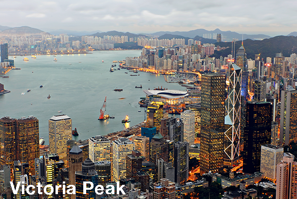 Hong Kong Sightseeing - Victoria Peak