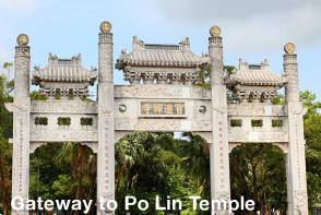 Hong Kong Sightseeing - Po Lin Temple