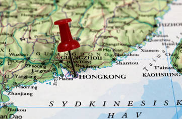TramOramic Tour Hong Kong - Map