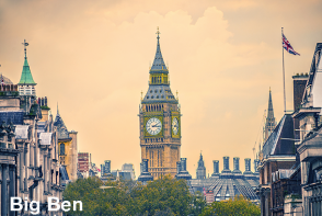 Big Ben and Elisabeth Tower - London Sightseeing Extrapolitan