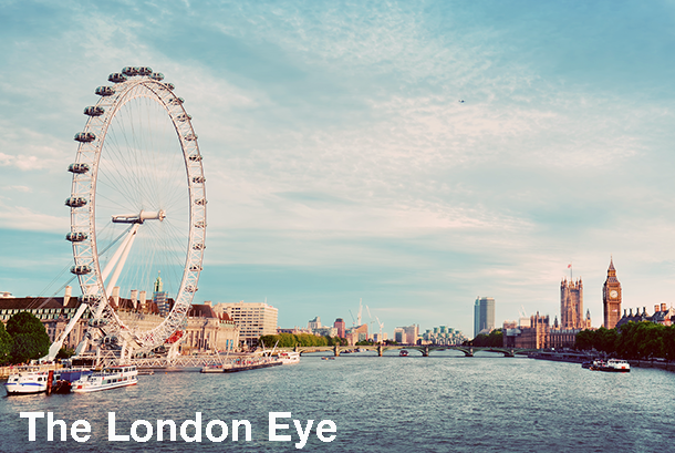 The London Eye - London Sightseeing with Extrapolitan