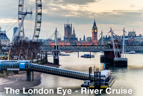 Thames River Cruise - London Sightseeing with Extrapolitan