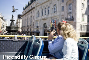 Piccadilly Circus - London Sightseeing with Extrapolitan