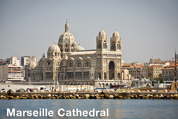 Marseille Cathedral - Marseille Sightseeing Bus Tour