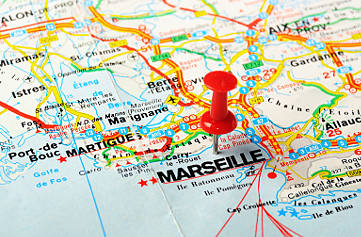 Colorbus Marseille - Tour Map