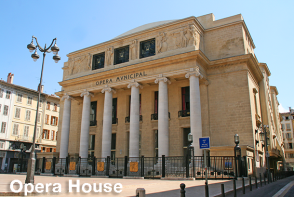 Opera House - Marseille Sightseeing Bus Tour