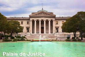 Palais de Justice - Marseille Sightseeing Bus Tour