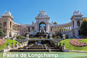 Palais de Longchamp - Marseille Sightseeing Bus Tour