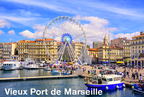 Vieux Port de Marseille - Marseille Sightseeing Bus Tour
