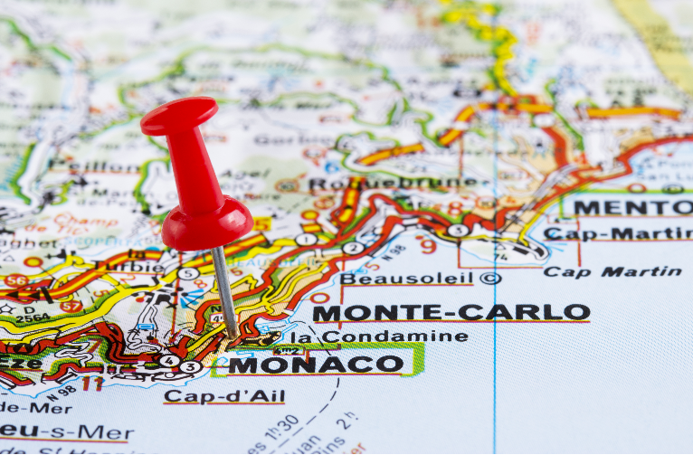 Monaco Le Grand Tour - Routes and Map