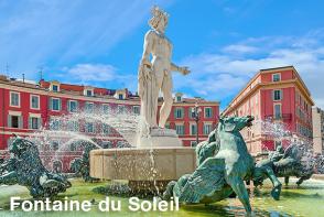 Nice Le Grand Tour - Fontaine du Soleil