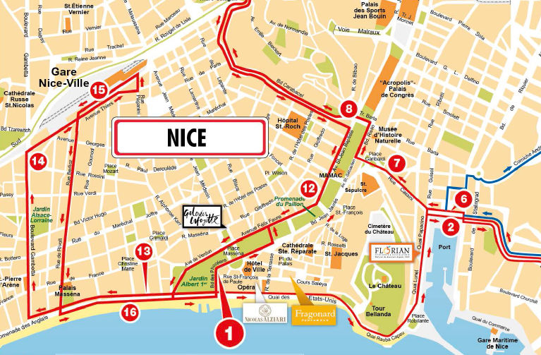 Nice Routes Maps Extrapolitan Hop On Hop Off Sightseeing Bus