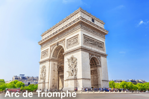 Arc de Triomphe - Paris Sightseeing. Extrapolitan