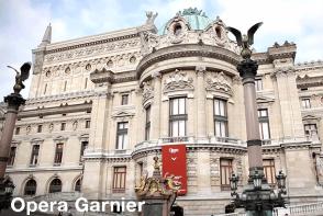 Opera Garnier - Paris Sightseeing. Extrapolitan
