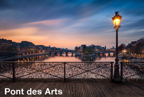 Ponts des Arts - Paris Sightseeing. Extrapolitan