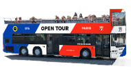 Extrapolitan: Sightseeing Bus Tour Paris