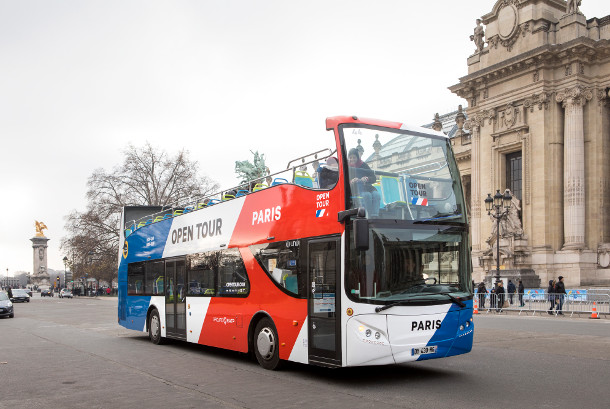 Open Tour Paris - Hop-on Hop-off Sightseeing Bus Tour