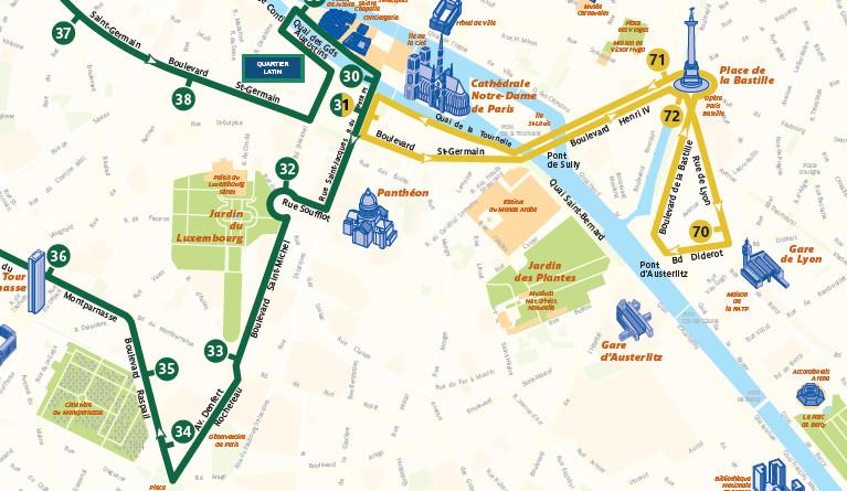 Open Tour Paris - Yellow Route