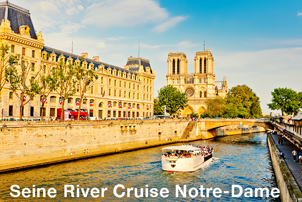 Seine River Cruise - Paris Sightseeing. Extrapolitan