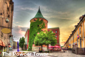 Riga Sightseeing - The Powder Tower