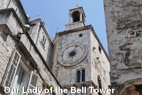 Split Sightseeing - Our Lady of the Bell Tower