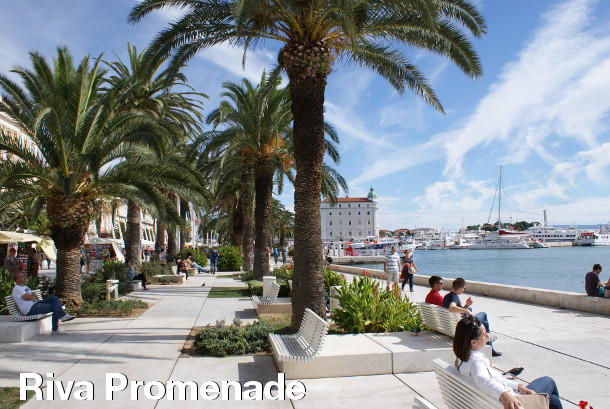 Split Sightseeing - Riva Promenade