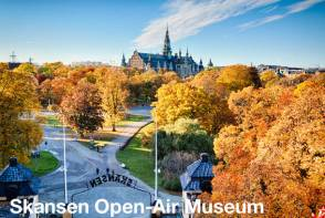Stockholm Sightseeing - Skansen Open-Air Museum