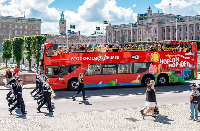 Red Buses Stockholm - Hop-on Hop-off Sightseeing Tour