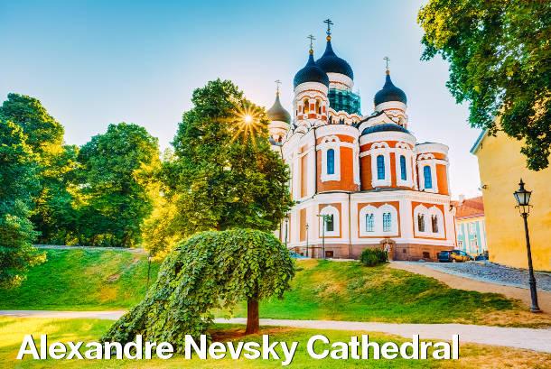 Tallinn Sightseeing - Alexandre Nevsky Cathedral