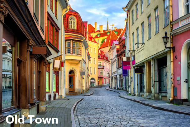 Tallinn Sightseeing - Old Town