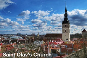 Tallinn Sightseeing - Saint Olav's Church